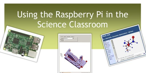 Using the Raspberry Pi in the Science Classroom