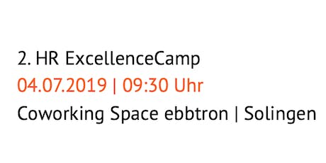 2. HR ExcellenceCamp Tickets