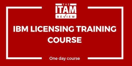 2019 IBM Licensing Training Course - London, UK (September) billets