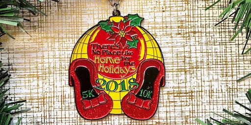 Only $10! No Place Like Home for the Holidays 5K & 10K -Chattanooga