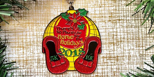 Only $10! No Place Like Home for the Holidays 5K & 10K -Knoxville
