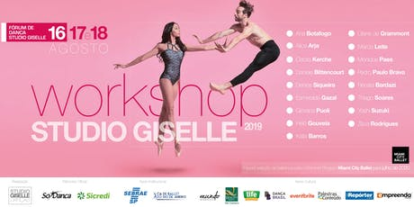Workshop de Dança Studio Giselle 2019 ingressos