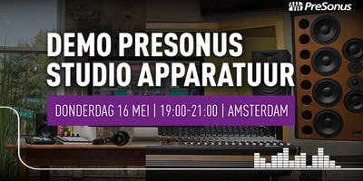 Demo PreSonus Studio-apparatuur