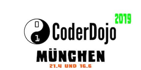 Coder Dojo Munich 2019 (alle zwei Monate am 3. Sonntag) Tickets