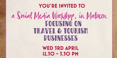 Social Media Workshop for Travel & Tourism Specialists