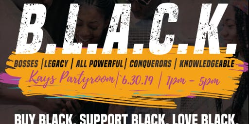 B.L.A.C.K Networking, Meet, Greet, Shop Event