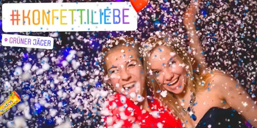 KONFETTIliebe Party, 90er & 2000er * 03.08.19, Grüner Jäger, Hamburg