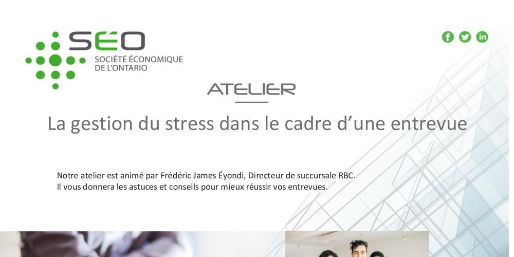b7d48692d9b La gestion du stress dans le cadre d une entrevue Billets