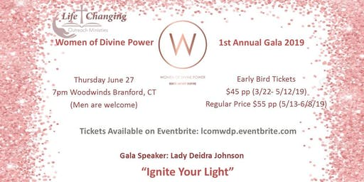 "Women of Divine Power Gala ""Ignite Your Light"""