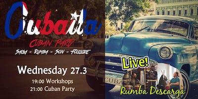 Cubaila - 100% Cuban Party - Afrocuban LIVE music