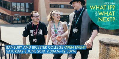 Banbury and Bicester College: Open Event, June 2019