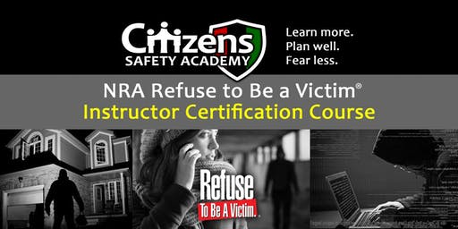 Refuse to Be a Victim Instructor Certification Course