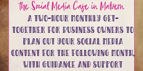 The Social Media Cafe tickets