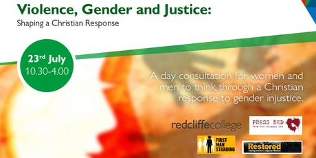 Violence, Gender and Justice: Shaping a Christian Response tickets