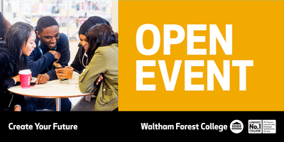 Waltham Forest College May Open Event