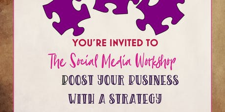 The Social Media Workshop – Boost your Business with a Social Media Strategy tickets