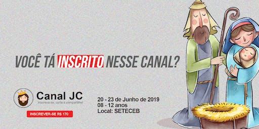 CANAL JC - ACAMPAMENTO KIDS BOAS NOVAS