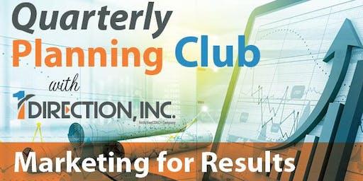 Quarterly Planning Club