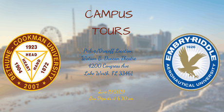 Daytona College Tour: Bethune-Cookman and Embry-Riddle  tickets
