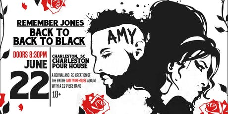 back to Back to Black : Amy Winehouse Tribute feat. Remember Jones tickets