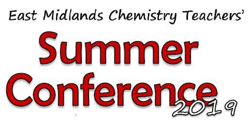 East Midland Chemistry Teachers' Conference 2019