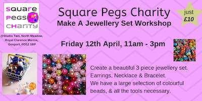 Make a Jewellery Set Workshop, Friday12th April, 11am-3pm [£10]