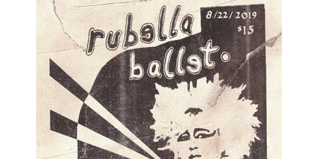 Rubella Ballet with Haram, Blu Anxiety, Wisteria and Miedo tickets