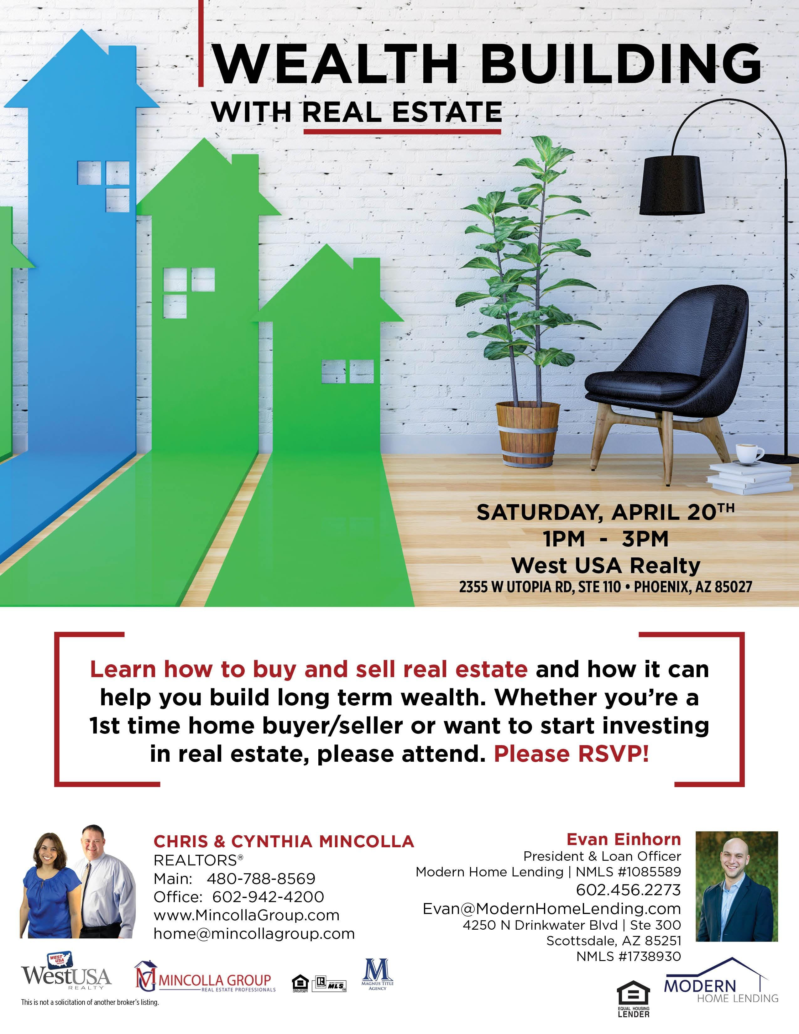 Wealth Building With Real Estate