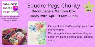 Décopauge A Memory Box - Fri 19th April, 11am-3pm [£10]