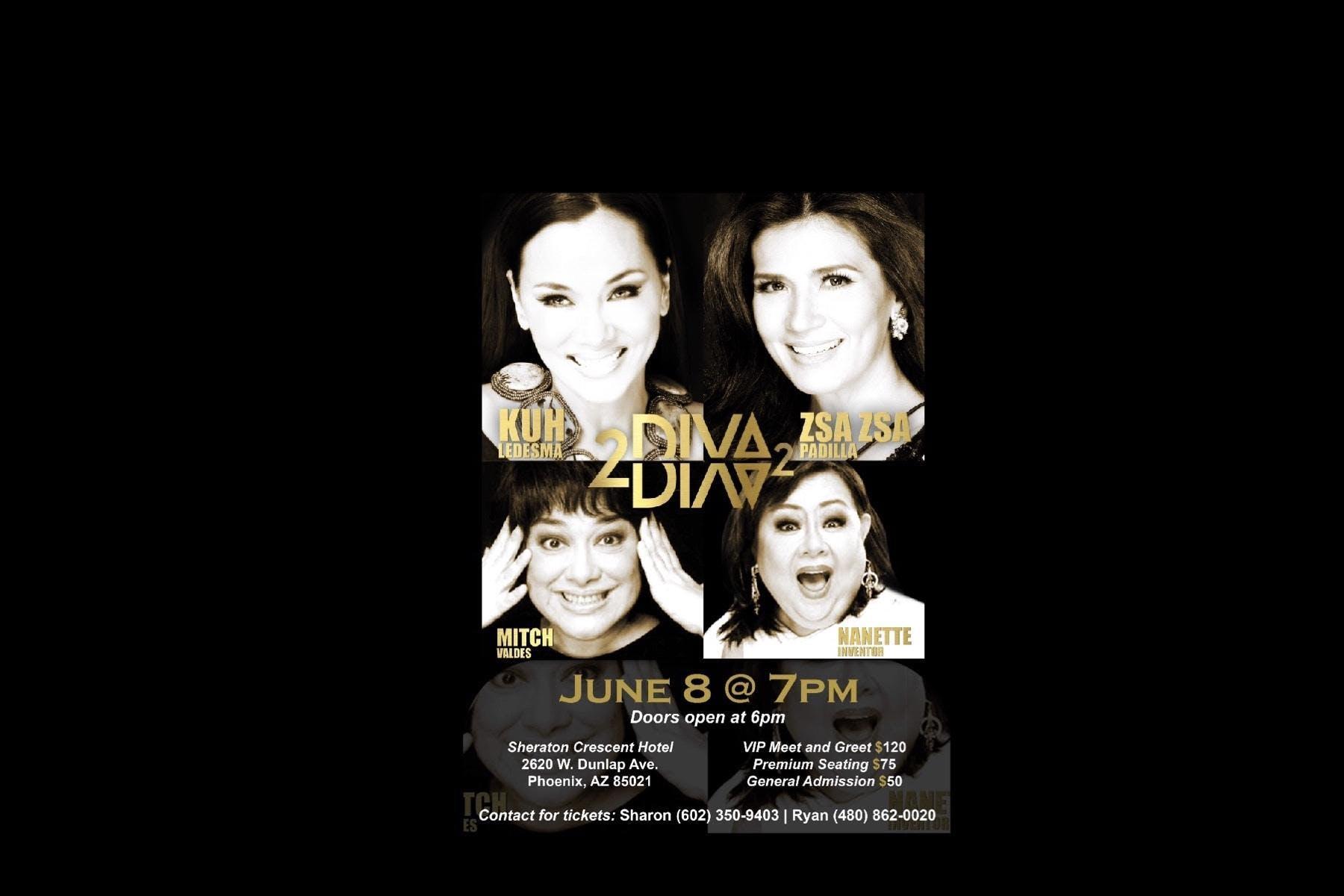 DIVA2DIVA LIVE IN AZ!