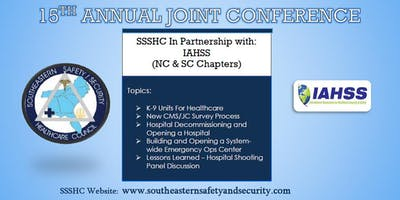 15th Annual Joint Conference SSSHC In partnership with IAHSS NC/SC Chapters