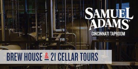 June Samuel Adams Cincinnati Taproom Tour tickets
