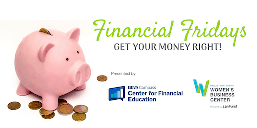 Financial Fridays: Get Your Money Right!