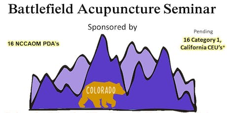 Battlefield Acupuncture with John Howard tickets