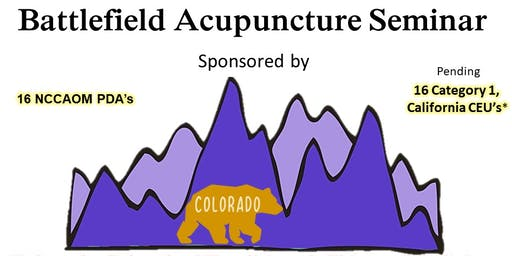 Battlefield Acupuncture with John Howard