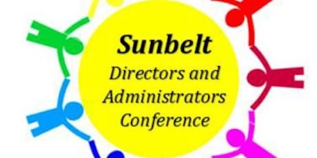 Sunbelt Directors and Administrators Meeting 2019 tickets