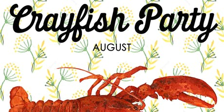 Crayfish Party 20th August tickets