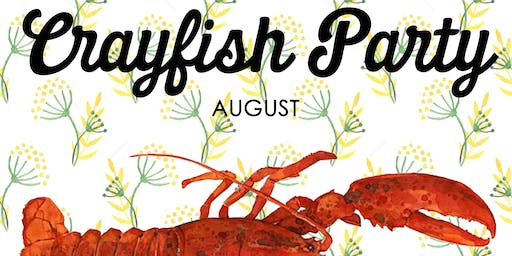Crayfish Party 20th August