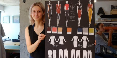 FASHION DESIGN & ILLUSTRATION : 2-WEEK INTENSIVE - July 8 -  July 18 tickets