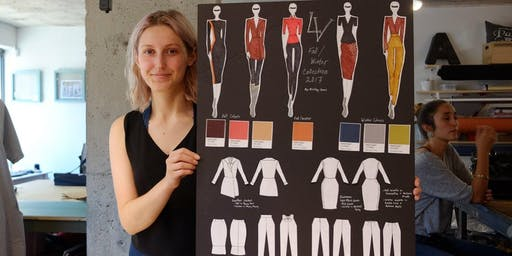 FASHION DESIGN & ILLUSTRATION : 2-WEEK INTENSIVE - August 6 to 16