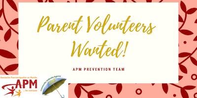 Parent Volunteers Needed!!!