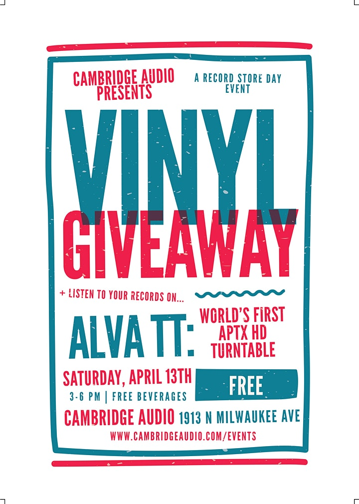 Record Store Day: Vinyl Giveaway image