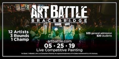 Art Battle Bracebridge - May 25, 2019