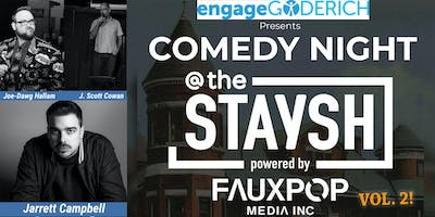 Engage Goderich presents Comedy Night @ The Staysh Vol. 2
