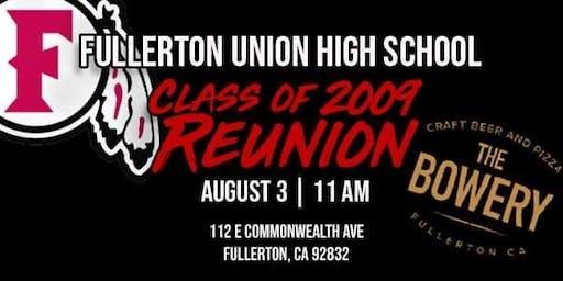FUHS Reunion- Class of 2009
