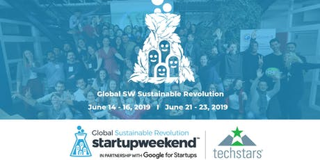 Techstars Global Startup Weekend Medellín Revolucíon Sustentable tickets