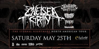 Chelsea Grin-Eternal Nightmare Tour at Cargo Concert Hall