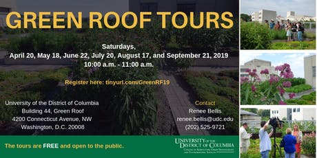 UDC Green Roof Tours tickets