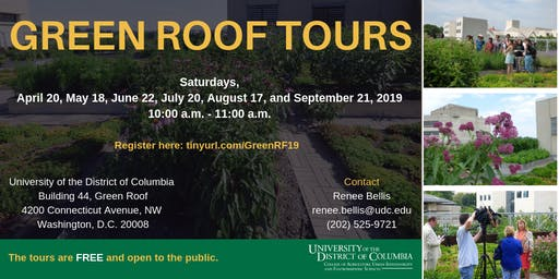 UDC Green Roof Tours