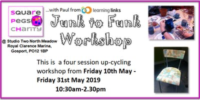 Junk To Funk Workshop - Fridays in May [£5]